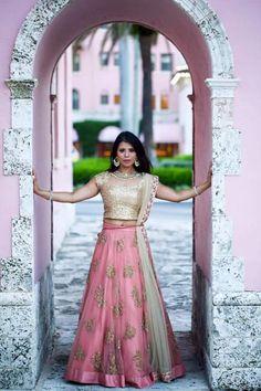 Stunningly beautiful and delicate color ...💗💗Photo by Mohiz Studio, Pathankot #weddingnet #wedding #india #indian #indianwedding #weddingdresses #mehendi #ceremony #realwedding #lehenga #lehengacholi #choli #lehengawedding #lehengasaree #saree #bridalsaree #weddingsaree #indianweddingoutfits #outfits #backdrops #groom #wear  #bridesmaids #prewedding #photoshoot #photoset #details #sweet #cute #gorgeous #fabulous #jewels #rings #tikka #earrings #sets #lehnga
