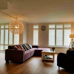 Witte shutters woonkamer | Shutters in de woonkamer | Pinterest ...