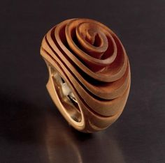 Wooden Jewelry, Jewelry Art, Sea Glass Ring, Ring Tutorial, Agate Ring, Wood Rings, Jewelry Photography, Ring Designs, Jewelery