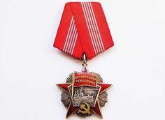 UdSSR Orden der Oktober Revolution nr.67471 Silber gebraucht kaufen bei Hood.de