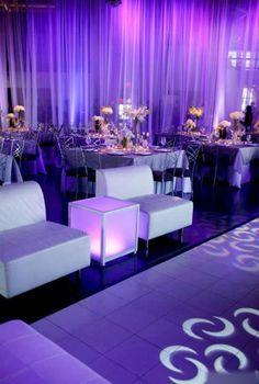 European Purple Wedding Scene 2 ... purple lighting would be a cool effect