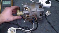 Подключаем двигатель стиральной машины. Connect the engine of washing ma...
