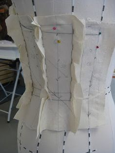 Belle Dame: The Silver Thimble: Creating the Bodice Pattern for Romantic Tutu