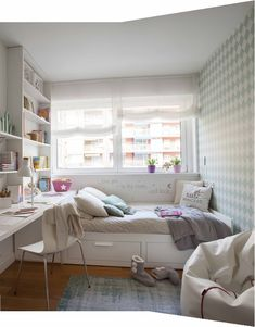 14 Trendy Bedroom Design and Decor Ideas for Your Next Makeover - The Trending House Small Room Bedroom, Trendy Bedroom, Home Bedroom, Room Decor Bedroom, Modern Bedroom, Contemporary Bedroom, Master Bedroom, Narrow Bedroom, King Bedroom