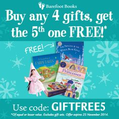 Buy 4 books or gifts from Barefoot Books, get the on FREE! Barefoot Books, Books To Buy, Pop Tarts, Snack Recipes, My Favorite Things, Learning, Gifts, Birthday Parties, Stuff To Buy