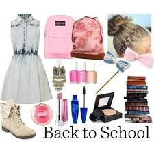 I'm homeschooled so not back to school for me, but I'd wear it anyways or everyday wear (: