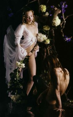 """Gemma Ward - """"Magnificent Excess"""" photographed by Mario Sorrenti for Vogue Italia September 2005"""