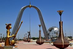 N'Djamena, place de la Nation, Chad