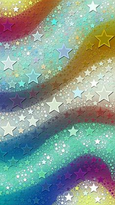 By Artist Unknown. Flower Phone Wallpaper, Rainbow Wallpaper, Star Wallpaper, Unique Wallpaper, Pretty Wallpapers, Cellphone Wallpaper, Colorful Wallpaper, Galaxy Wallpaper, Screen Wallpaper