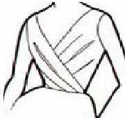 Como hacer blusas con cortes asimétricos.