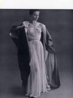 Grès 1952 Photo Pottier, Evening Gown