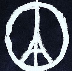 Peace for Paris Wallpaper