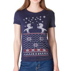 unicorn holiday tee. YES