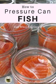 Canning Salmon at Home Canning Salmon at Home -Home can your own fish! Use a pressure canner to safely can salmon and other fish. Step by step instructions to preserve your catch! Pressure Canning Meat, Pressure Cooker Recipes, Pressure Cooking, Home Canning Recipes, Canning Tips, Canning Soup, Canning Pears, Canned Meat, Canned Food Storage