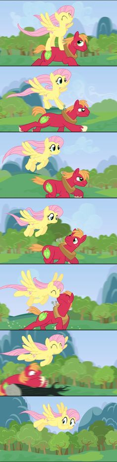 Fluttershy The Glider by anarchemitis (i dont ship it too much, but its pretty dang cute :3)