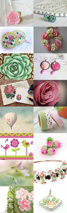 Fresh Sunday Flowers by Alenka Kovac on Etsy--Pinned with TreasuryPin.com