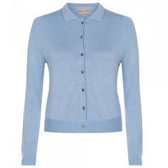 Novak Bluebird Cardigan   Vintage Style Knitwear - Lindy Bop
