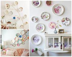 Pratos na decor #plates #pratos #decor