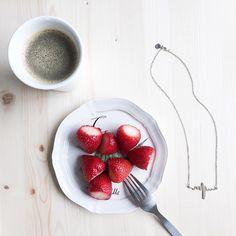 The Heartbeat Necklace But First Coffee, In A Heartbeat, Fine Jewelry, Ethnic Recipes, Food, Essen, Meals, Yemek, Eten