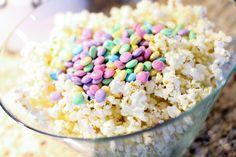 white chocolate popcorn ingredients I wanna make this