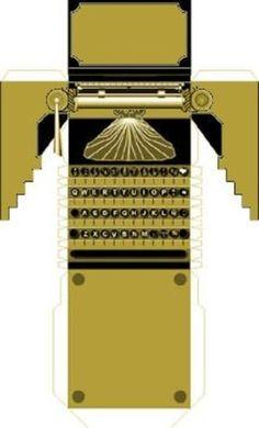 typewriter printie