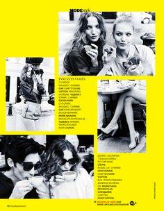 awesome Madame Figaro França | Capa e Editorial Junho 2013 | Sophia Beermann e Milagros Schmoll