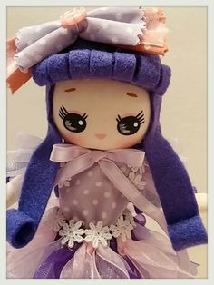 Japanese Vintage Pose Doll, Big Eyes Dolly