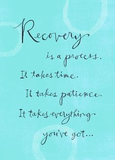 road to #recovery