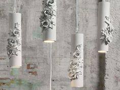 Direct light white-paste pendant lamp CAPODIMONTE | Pendant lamp by Karman