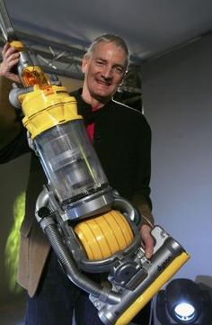 James Dyson replaced the ordinary vacuum's four wheels with a big ball. Household Cleaning Tips, Deep Cleaning Tips, Toilet Cleaning, House Cleaning Tips, Cleaning Solutions, Spring Cleaning, Cleaning Hacks, Cleaning Products, Household Products