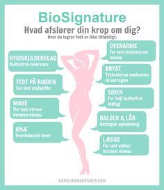 TØR DU TESTE DIN KROP? Den afslører meget mere end du tror.. Værd at vide når du en ønsker en slank smuk og sund krop som du elsker! (Aldrig mere slankekur - vægttab / fedttab skal være naturligt!) Læs mere på bloggen i dag: http://www.karolinakaersner.com/toer-du-teste-din-krop.html BioSignature Karolina Kærsner - KarolinaKaersner.com