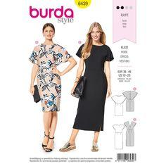 090b41cdb84e Misses Dresses Burda Sewing Pattern 6439. Size 10-20. Burda Patterns