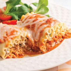 Lasagnes farcies - Soupers de semaine - Recettes 5-15 - Recettes express 5/15 - Pratico Pratique Pasta Recipes, Lasagna, Italian Recipes, Main Dishes, Good Food, Food And Drink, Vegetarian, Healthy Recipes, Dinner