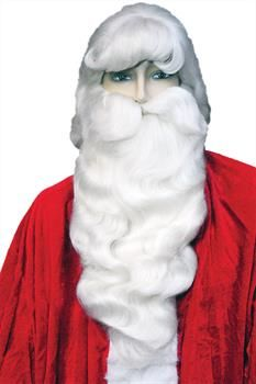 Rubie/'s Red Plush Santa Boot Christmas Slippers White Trim Adult Unisex Medium