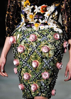 1 | Banknotes, Diamonds, And Gardens: Mary Katrantzou's Surreal Textiles | Co.Design: business + innovation + design
