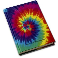 Memorybook Company Hall of Fame Yearbook Covers / Tie Dye