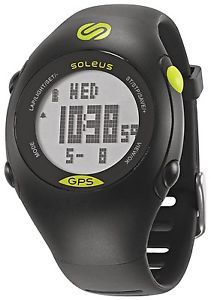 Detalles de Soleus Mini Negro/plata Gps activity/calorie Tracker Reloj ... - Achieve your workout goals with the help of a gps tracker to measure all things exercise: topsmartwatchesonline.com