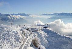Ich wünsche euch allen einen guten Wochenstart! • • • #inlovewithswitzerland #topofappenzell #hoherkasten #naturelovers #nature #hiking #winter #snow #wintermagazine #landsacape #swissalps #winterwonderland #mykeymission #alpstein #landscapephotography