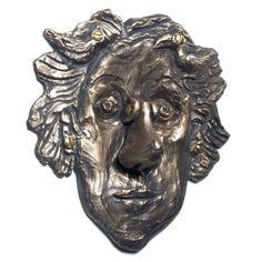 Rose & Her Nose Door Knocker - Bronze