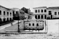 Fonte do Ribeirão, em uma belíssima imagem de Tibor Jablonsky. São Luis - MA, Brasil, anos 1960. Fonte: Acervo digital  do IBGE.