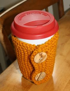 Free Knitting Pattern: Button Up Coffee Sweater