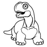Desenho De Dinossauro Diplodoco Para Colorir Desenhos
