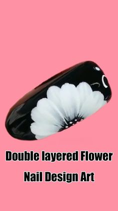 Double Layered Flower means there are two layered to make three-dimensional flowers. Flower is a popular element to nail beauty. Today, will get you 10 Double-Layered-Flower Nail Art Designs for your nail beauty. Nail Art Hacks, Nail Art Diy, Easy Nail Art, Cool Nail Art, Nail Art Designs Videos, Nail Design Video, Nail Art Videos, Nail Art Tutorials, Nails Design
