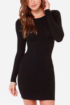 nice Sexy black dresses for Christmas