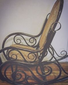Antique Thonet Bentwood Rocking Chair, In Crest Hill, IL