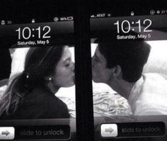 Lock screen love!