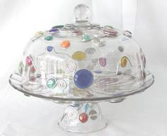Cake Plate with Dome and Punch Bowl