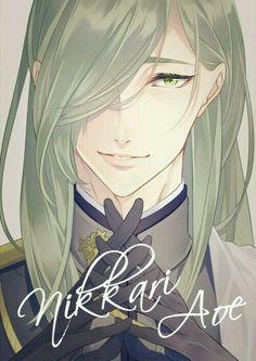 Handsome Anime Guys, Hot Anime Guys, Cute Anime Boy, Anime Long Hair, Nikkari Aoe, Fantasy Art Men, Shall We Date, Estilo Anime, Bishounen
