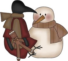 CROW AND SNOWMAN