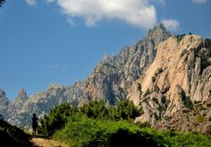 Hiking in Bavella mountain - Corsica